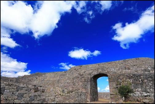 中城城跡の画像