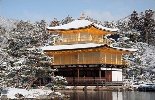 金閣寺の画像