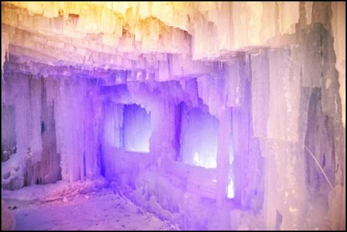 層雲峡の氷瀑まつりの画像