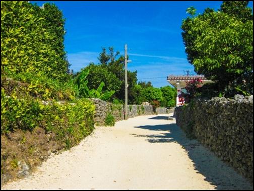 フリー 由布島の街並みの画像