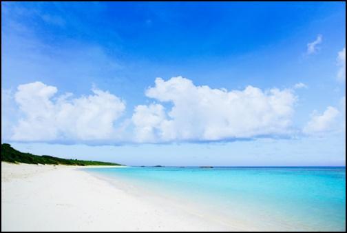 波照間島のビーチの画像