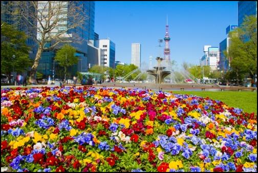 4月の札幌の画像
