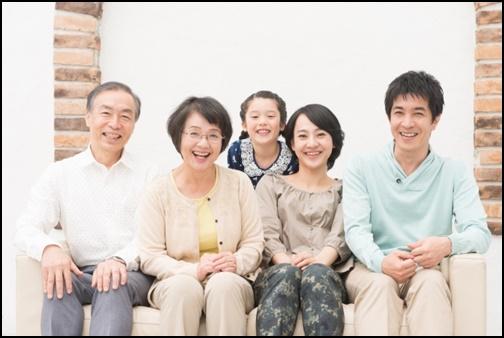 家族の写真の画像