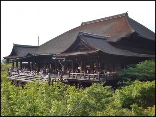 6月の清水寺の画像