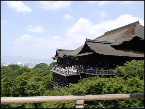 5月の清水寺の画像