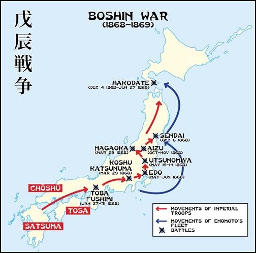 戊辰戦争の画像