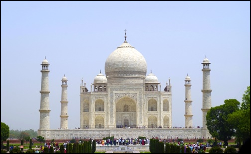 インドのタージマハルの画像