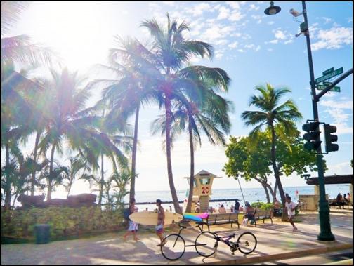 5月の沖縄のビーチの画像