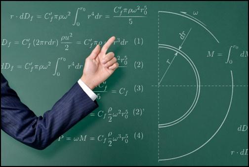 数学の授業の画像