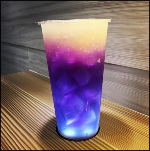 星空漸層飲料の画像