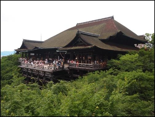 7月の清水寺の画像