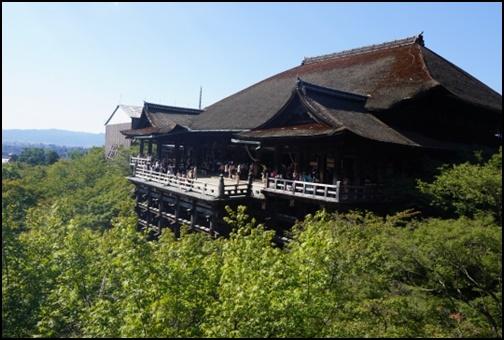 8月の清水寺の画像