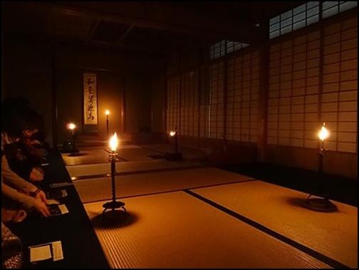 高台寺の夜咄の画像