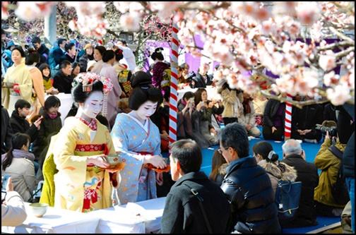 北野天満宮 梅花祭の画像