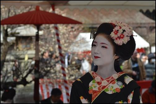 北野天満宮の梅花祭の画像