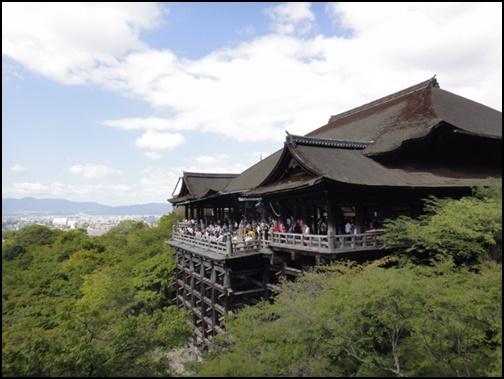 9月の清水寺の画像