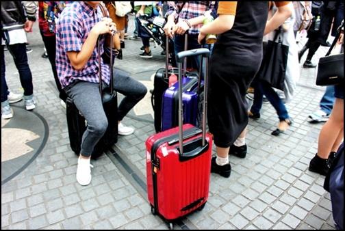 観光客の画像