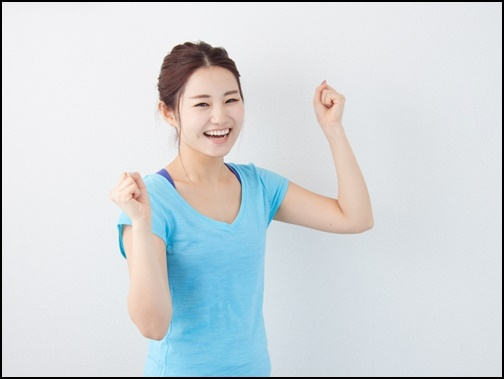 健康的な女性画像