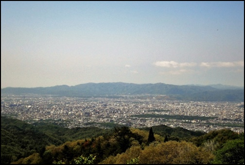 京都の盆地の画像