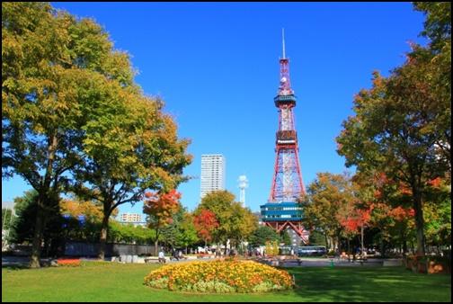 札幌大通公園通りの画像