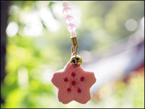 平安神宮の桜守りの画像