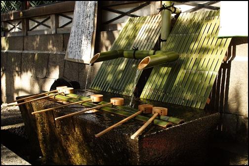 御香宮神社の御香水の画像