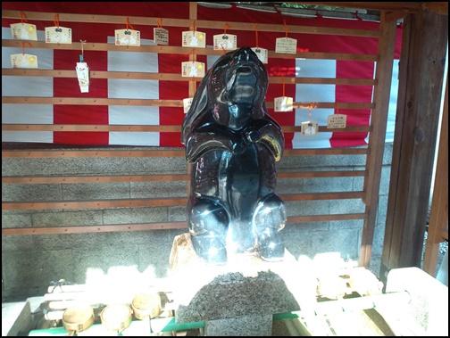 岡崎神社 - 子授けうさぎ像の画像