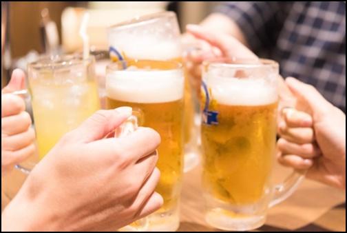 飲み会の画像