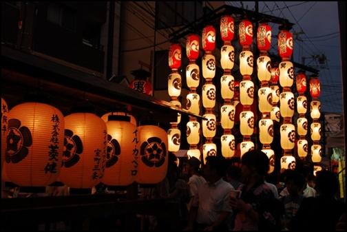 京都の祇園祭の画像