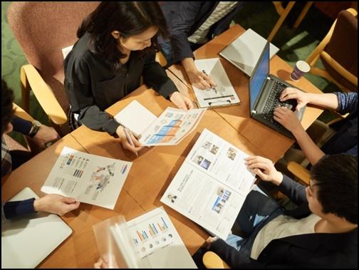 勉強会の画像