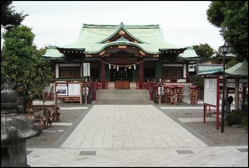 亀戸天神社の画像