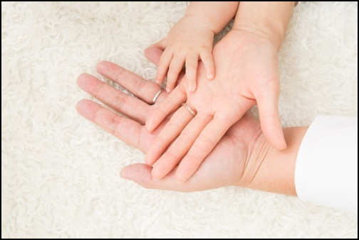 家族の手の画像