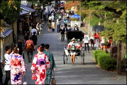 京都の街並みの画像