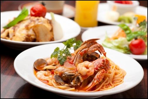 イタリアン料理の画像