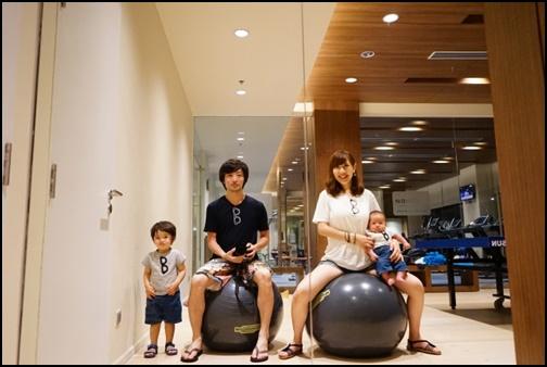 家族旅行の画像