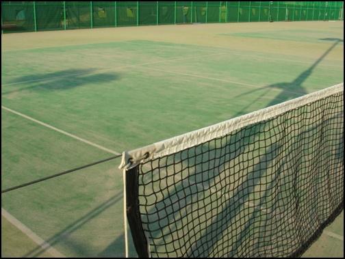 テニスのネットの画像