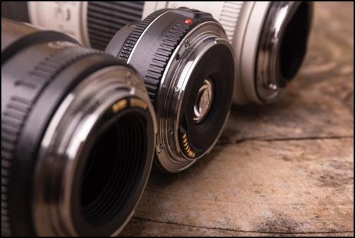 カメラレンスの画像