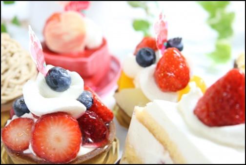 ショートケーキ・スイーツの画像