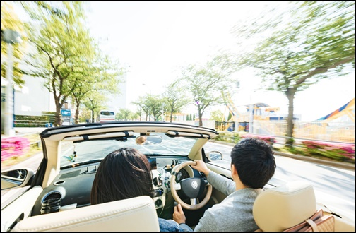 ドライブデートの画像