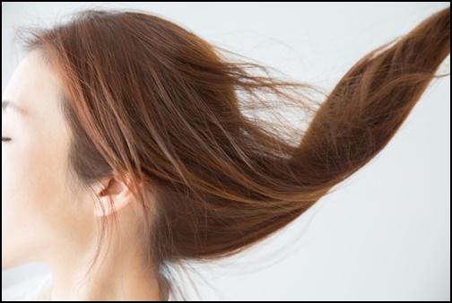 綺麗な女性の髪の毛の画像