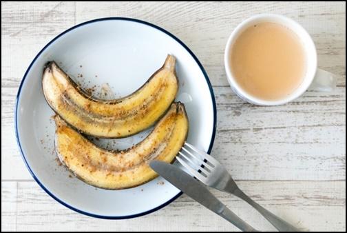 焼きバナナの画像