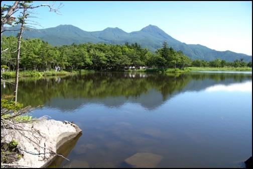 知床五湖の画像