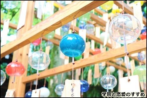 川越氷川神社の風鈴画像