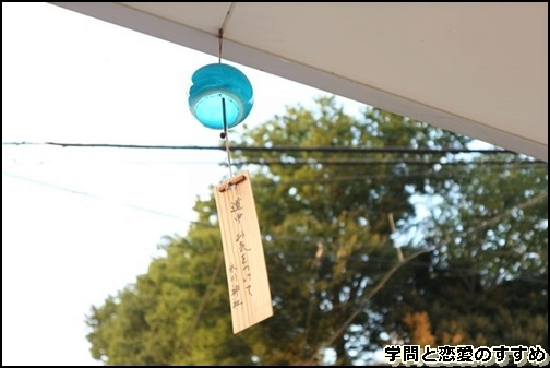 川越氷川神社の風鈴の画像