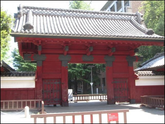 東京大学の赤門の画像