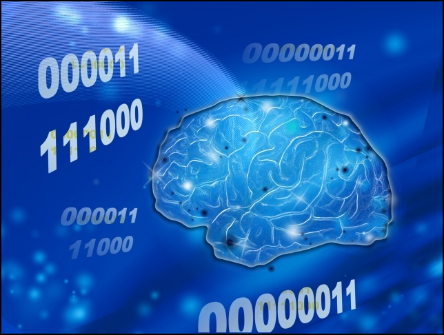 AIの思考と量子力学の画像