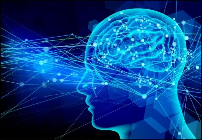 AIテクノロジーと量子力学の画像